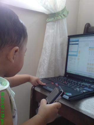 ozzy w/laptop